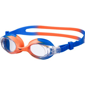 arena X-Lite Goggles Kinderen, blue orange/clear